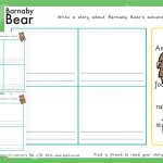 Barnaby Bear in Brazil Story Writing Frames