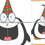 Monty the Penguin – Pin the Beak Christmas Party Game