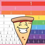 Rainbow Fractions Wall