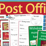 Post Office Role-Play Pack
