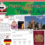 Christmas Travel Agent Role-Play Pack