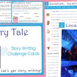 Fairy Tale Story Writing Challenge Cards