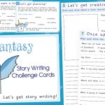 Fantasy Story Writing Challenge Cards