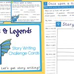 Myths and Legends Story Writing Challenge Cards
