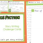 Science Fiction Story Writing Challenge Cards