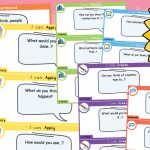 Editable Bloom's Taxonomy Question Cards