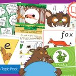 The Gruffalo Story Books Topic Pack