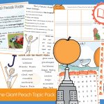 James and the Giant Peach Topic Pack