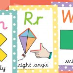 Maths Vocabulary Posters Cursive (KS1)