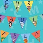 Our Reading Area Bunting