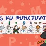 Kung Fu Punctuation Banner