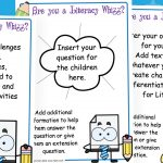 Editable Literacy Whizz Challenges