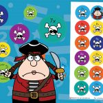 Pirate Times Tables Stickers