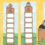 My Monkey Maths Targets Bookmarks