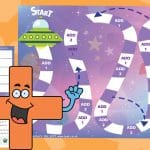 Space Aliens Game – Adding 1 & 2
