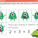 Partitioning 5 Aliens Activity