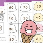 Counting to 100 in Tens – Ice Creams