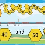 Beaded Number Line Powerpoint – Which Tens is it Between?