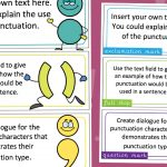 Editable Punctuation Character Labels