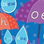 Phonics Umbrella and Raindrop Sounds Pack 6