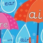 Phonics Umbrella and Raindrop Sounds Pack 4