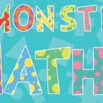 Monster Maths Display Lettering