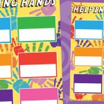 Helping Hands, Classroom Jobs Poster