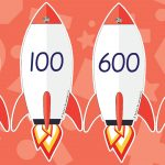 Rocket Numbers to 1000 in 100s