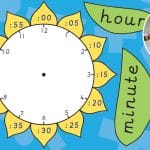 Time Telling Flower Clock