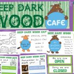 Gruffalo Deep Dark Wood Cafe Role-Play Pack