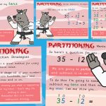 Mental Subtraction Strategies – Partitioning Posters