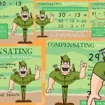 Mental Subtraction Strategies – Compensating Posters