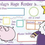 Today's Magic Number Board (KS1)