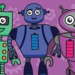 Buddy Bots Character Cut Outs