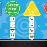 Zones of Self-Regulation Emotions – Road Display