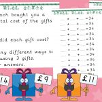 Three Wise Gifts – Christmas Addition Challenges