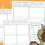 Excitable Edgar Comes to Stay – Story Boards