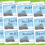 Polar Express Key Word Labels