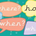 Question Speech Bubbles (Full Colour)
