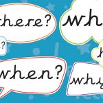 Question Speech Bubbles (Printer Friendly)
