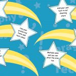 Editable VCOP Punctuation Shooting Stars