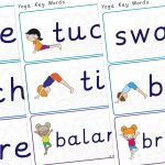 Yoga Word Labels