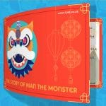 Nian the Monster Chinese New Year Flipbook