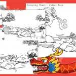 Chinese New Year Zodiac Story Colouring