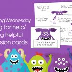 Wellbeing Wednesday Spring Week 4 Discussion Cards
