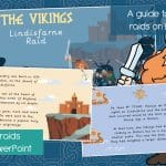 The Vikings – Raids on Lindisfarne Animated PowerPoint