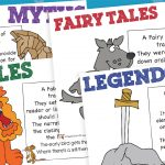 Myths, Fables, Fairy Tales and Legends Purpose Posters