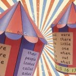 EYFS and KS1 Letters, Numbers and Words Circus Tent