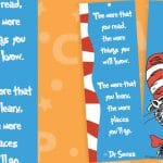 Dr Seuss The Cat In The Hat Bookmarks