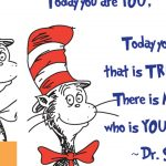Dr Seuss – You Quote Poster